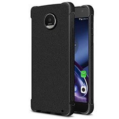 Silicone Candy Rubber Soft Case TPU for Motorola Moto Z2 Play Black