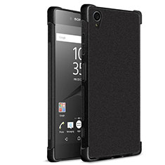 Silicone Candy Rubber Soft Case TPU for Sony Xperia XA1 Plus Black