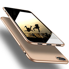 Silicone Candy Rubber Soft Cover Gel for Apple iPhone SE (2020) Gold