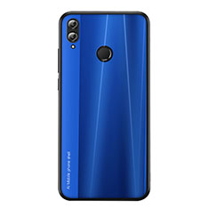 Silicone Candy Rubber TPU Line Soft Case Cover for Huawei Honor 8X Blue