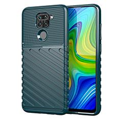 Silicone Candy Rubber TPU Line Soft Case Cover for Xiaomi Redmi 10X 4G Green