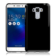 Silicone Candy Rubber TPU Soft Case for Asus Zenfone 3 Laser Black