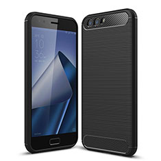 Silicone Candy Rubber TPU Soft Case for Asus Zenfone 4 ZE554KL Black