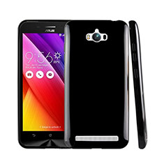 Silicone Candy Rubber TPU Soft Case for Asus Zenfone Max ZC550KL Black