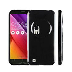 Silicone Candy Rubber TPU Soft Case for Asus Zenfone Zoom ZX551ML Black