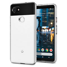 Silicone Candy Rubber TPU Soft Case for Google Pixel 2 XL White