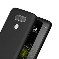 Silicone Candy Rubber TPU Soft Case for LG G5 Black