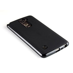 Silicone Candy Rubber TPU Soft Case for LG Stylus 2 Plus Black