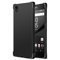 Silicone Candy Rubber TPU Soft Case for Sony Xperia XA1 Plus Black