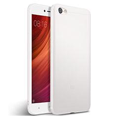 Silicone Candy Rubber TPU Soft Case for Xiaomi Redmi Note 5A Standard Edition White