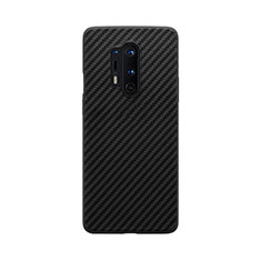 Silicone Candy Rubber TPU Twill Soft Case B02 for OnePlus 8 Pro Black