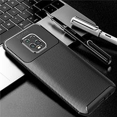 Silicone Candy Rubber TPU Twill Soft Case Cover for Xiaomi Redmi 10X Pro 5G Black