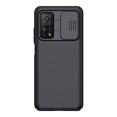 Silicone Candy Rubber TPU Twill Soft Case for Xiaomi Mi 10T Pro 5G Black