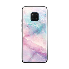 Silicone Frame Fashionable Pattern Mirror Case Cover K03 for Huawei Mate 20 Pro Colorful