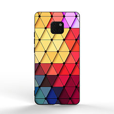 Silicone Frame Fashionable Pattern Mirror Case K02 for Huawei Mate 20 Pro Colorful