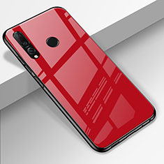 Silicone Frame Mirror Case Cover for Huawei Enjoy 9s Red