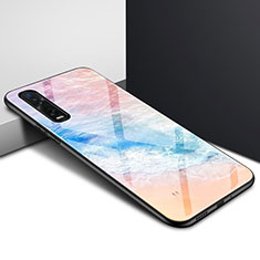 Silicone Frame Mirror Case Cover for Oppo Find X2 Pro Colorful