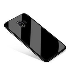 Silicone Frame Mirror Case Cover for Samsung Galaxy J2 Pro (2018) J250F Black