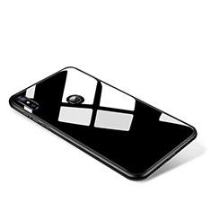 Silicone Frame Mirror Case Cover for Xiaomi Mi Mix 2S Black