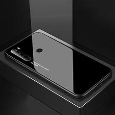 Silicone Frame Mirror Case Cover for Xiaomi Redmi Note 8T Black