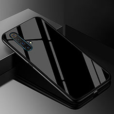 Silicone Frame Mirror Case Cover M01 for Realme X50 5G Black
