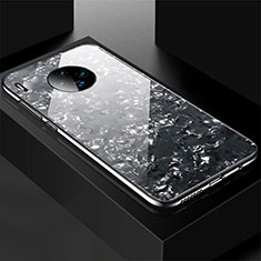 Silicone Frame Mirror Case Cover M02 for Huawei Mate 30 Pro 5G Black