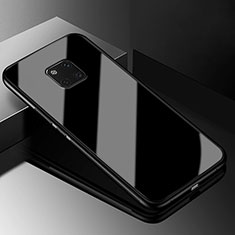Silicone Frame Mirror Case Cover M03 for Huawei Mate 20 Pro Black