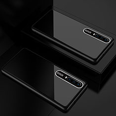 Silicone Frame Mirror Case Cover T01 for Huawei P30 Black