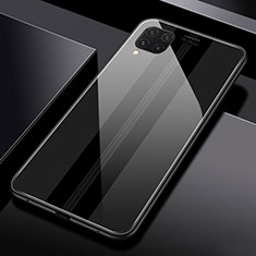 Silicone Frame Mirror Case Cover T01 for Huawei P40 Lite Black
