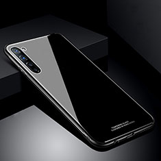 Silicone Frame Mirror Case Cover T01 for Oppo Find X2 Lite Black