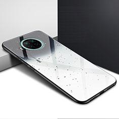 Silicone Frame Mirror Case Cover T01 for Xiaomi Mi 10T Lite 5G Gray
