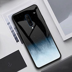 Silicone Frame Mirror Case Cover T02 for OnePlus 7T Pro Black