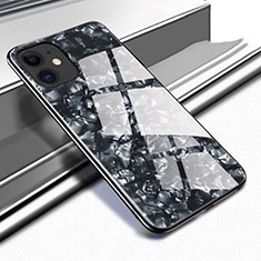 Silicone Frame Mirror Case Cover T05 for Apple iPhone 11 Black
