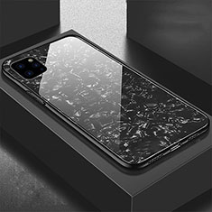 Silicone Frame Mirror Case Cover T06 for Apple iPhone 11 Pro Max Black