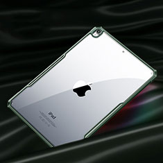 Silicone Transparent Mirror Frame Case Cover for Apple iPad Air 4 10.9 (2020) Midnight Green
