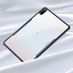 Silicone Transparent Mirror Frame Case Cover for Huawei MatePad 10.4 Black