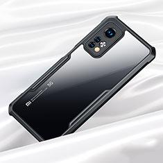 Silicone Transparent Mirror Frame Case Cover for Xiaomi Redmi K30S 5G Black