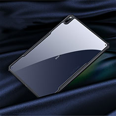 Silicone Transparent Mirror Frame Case Cover M01 for Huawei MatePad Pro 5G 10.8 Black