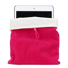 Sleeve Velvet Bag Case Pocket for Amazon Kindle Oasis 7 inch Hot Pink