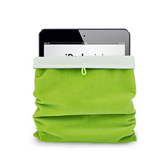 Sleeve Velvet Bag Case Pocket for Apple iPad 2 Green