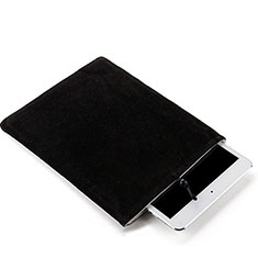Sleeve Velvet Bag Case Pocket for Samsung Galaxy Tab S7 Plus 5G 12.4 SM-T976 Black