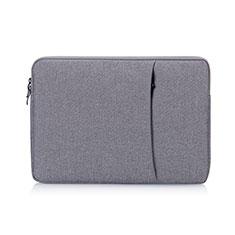 Sleeve Velvet Bag Case Pocket S01 for Samsung Galaxy Book Flex 15.6 NP950QCG Gray