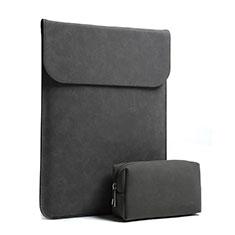 Sleeve Velvet Bag Case Pocket S02 for Huawei Matebook D14 (2020) Black