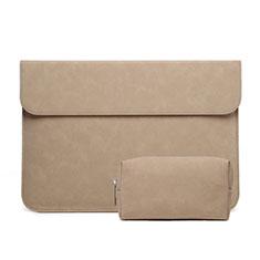 Sleeve Velvet Bag Case Pocket S03 for Huawei Matebook D15 (2020) 15.6 Orange