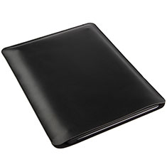 Sleeve Velvet Bag Leather Case Pocket for Microsoft Surface Pro 3 Black