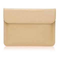 Sleeve Velvet Bag Leather Case Pocket L03 for Huawei Matebook X Pro (2020) 13.9 Gold