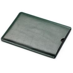 Sleeve Velvet Bag Leather Case Pocket L05 for Huawei Matebook X Pro (2020) 13.9 Green