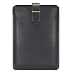 Sleeve Velvet Bag Leather Case Pocket L06 for Huawei Matebook X Pro (2020) 13.9 Black