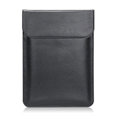 Sleeve Velvet Bag Leather Case Pocket L21 for Apple MacBook Pro 13 inch Black