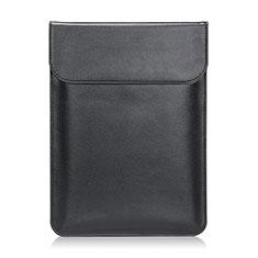 Sleeve Velvet Bag Leather Case Pocket L21 for Apple MacBook Pro 15 inch Black